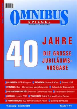 Jubiläumsheft 40 Jahre Omnibusspiegel